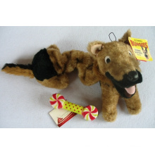 Toy Pet Country Toy Dog Bungee Plush Dog Toy