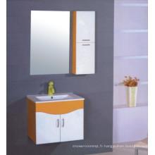 Meubles de Cabinet de salle de bains de PVC de 60cm (B-510)