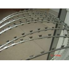 Колючая проволока оцинкованная железная бритва от профессиональной фабрики