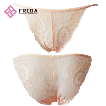 wanita fashion berenda thong panty set