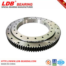 Single-Row Four Point Contact Slewing Ball Bearing with Internal Gear 9I-1b35-1170-1266