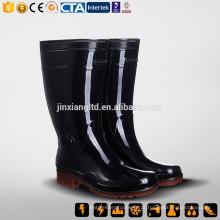CE S5 China Nova borracha & PVC Rain Boot & PVC uma vez injeção botas
