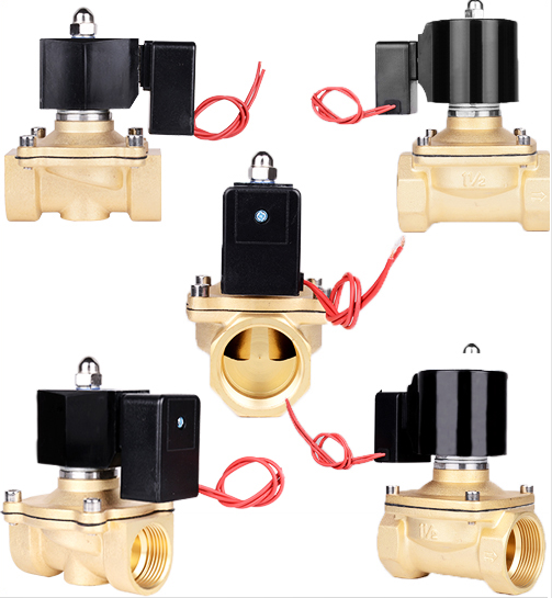 Schematic diagram of 2W400-40 solenoid valve