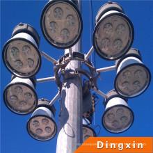 Éclairage élevé de haut mât de l'arrivée 400W LED de 32m avec le dispositif de levage et d'abaissement