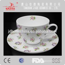 Taza de café de cerámica de hueso china