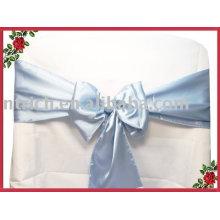 Лента, атласные ленты, стул галстук/накидки, Голубой ленты