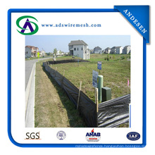 Good Quality 100% Polypropylene Woven Ground Cover / Silt Fence /Weed Barrier