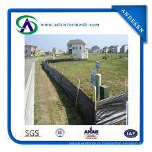De boa qualidade 100% polipropileno tecido à terra / cerca de seda / barreira de erva daninha