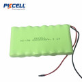 9.6v AAA 800mah Nimh Rechargeable Battery Pack with cable
