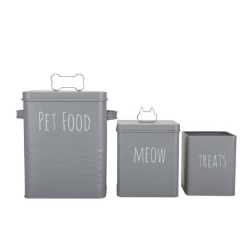 Tiernahrung Container Set