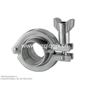 Tri clamp de acero inoxidable sanitaria