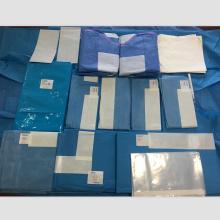 Одноразовый стерильный хирургический ортопедический пакет Хирургический халат