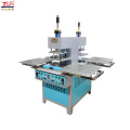 2-head silicone oil press embossing machine for cloth