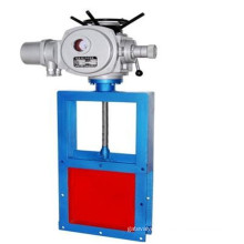 Electric Operation Square Port Carbon Steel Knife Gate Valve