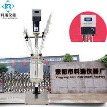 Mini reator de laboratório encamisado