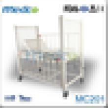 Fornecedor chinês venda quente manual hospital cama infantil MC201