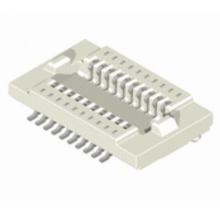Placa de 0.5mm para amarração do conector da placa = 2.0mm