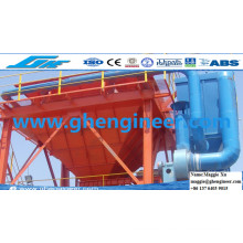 Dust Catcher Collector Bagging Mobile Hopper