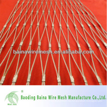 1mm Drahtdurchmesser 1 Zoll Loch Edelstahl 304 Ferrule Netting