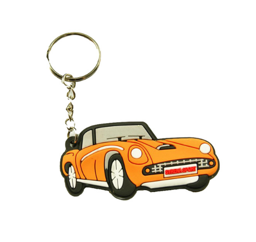 Custom Car Shape Keyring