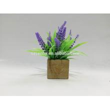 Fleur de glycine artificielle en plastique à vendre