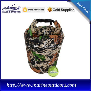 camo fashion waterproof dry bags for diving, surfing, swimming or camping