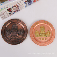 Hot Selling Manufacturer Factory Price Commemorative Plate For Anniversary