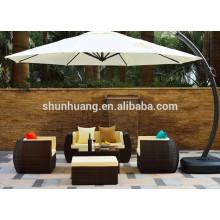 aluminum frame cheap rattan sofa furniture garden rattan sofa
