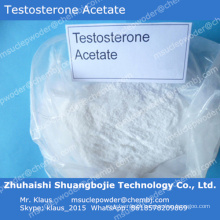 Acetato de testosterona esteróide androgênico para manter a massa muscular magra