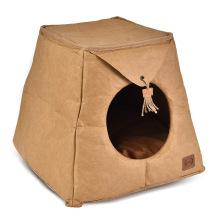 Custom Waterproof  Warm Indoor Cat Bed Cave House