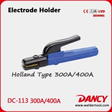 New design 300/400A good heat resistance electrode holder in arc welding Code.DC-113