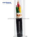 0.6 / 1KV 3 Core + 3 Earth Flame Retardant VFD Cable Power Cable