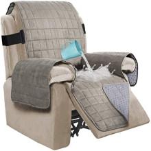 Fundas impermeables de gamuza para silla reclinable