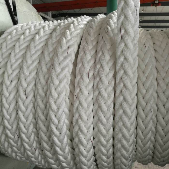 12 Strands braided pp nylon Rope