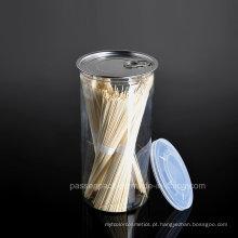 1000ml pet embalagens de alimentos plásticos podem para macarrão (PPC-CSRN-038)