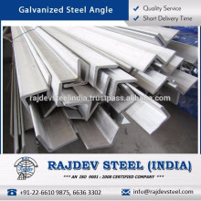 Highly Durable Most Selling Galvanized Steel Angle with Long Working Life