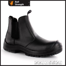 Industrial Leather Safety Shoes with PU/PU Sole (SN5449)