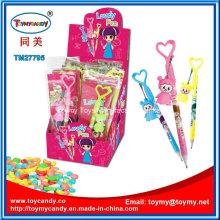 Hochwertiges Werbe-Baby-Spiel-Stift-Spielzeug mit Süßigkeit