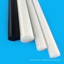 Black and White Acetal Round Pom Bar