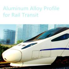 Perfil de alumínio para transporte Metro corpo