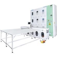 Automatisation de la machine de remplissage de courtepointe