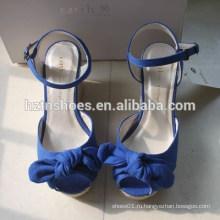 Новые японские сладкие клинья для сандалий женской обуви