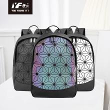 Geometrische Schultaschen Gitter Freizeit Sporttasche Rucksack Mode Luxus Tasche Damen Großhandel Handtasche