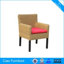 Cadeiras de restaurante de vime para móveis