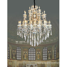 Elegance Crystal Brass Chandelier for Villa, Hotel, Church