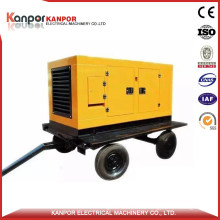 China Top Brand 3.42-21.6A Air Cooled 5kVA Trailer Diesel Generator with Ce Approved