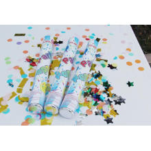 2017 Nuovo Design Confetti Party Popper