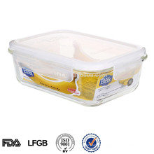 Glass Food Container With Airtight Lid