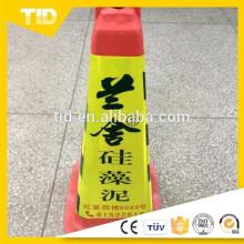 Luva de cone de segurança reflexiva de alta