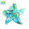 lampwork starfish pingentes de vidro millefiori cinco estrelas pingente de vidro